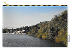 Carry-all Pouch featuring the photograph Boathouse II by Photographic Arts And Design Studio