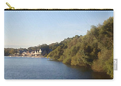Carry-all Pouch featuring the photograph Boathouse by Photographic Arts And Design Studio