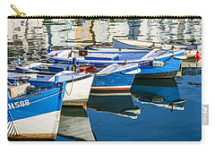 Boats At Anchor Carry-all Pouch