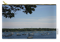 Carry-all Pouch featuring the photograph Boats At Rest by Denyse Duhaime