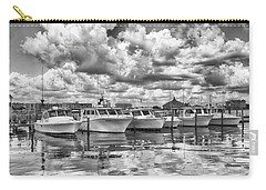 Carry-all Pouch featuring the photograph Boats by Howard Salmon