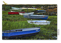 Boats In Marsh - Cape Neddick - Maine Carry-all Pouch