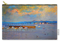 Boats In Piermont Harbor Ny Carry-all Pouch