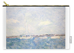 Boats On Lake Michigan In  Chicago Carry-all Pouch