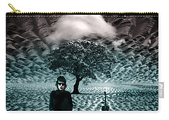 Bob Dylan A Hard Rain's A-gonna Fall Carry-all Pouch by Mal Bray