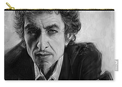 Bob Dylan Carry-all Pouch by Andre Koekemoer