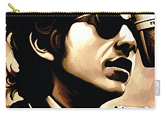 Bob Dylan Artwork 3 Carry-all Pouch by Sheraz A