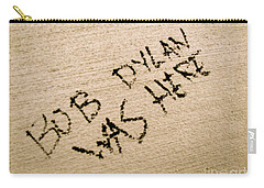 Bob Dylan Graffiti Carry-all Pouch