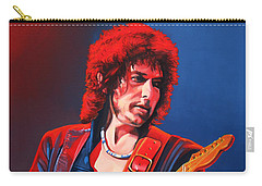 Bob Dylan Painting Carry-all Pouch by Paul Meijering