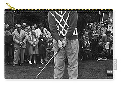 Bob Hope At Bing Crosby National Pro-am Golf Championship  Pebble Beach Circa 1955 Carry-all Pouch
