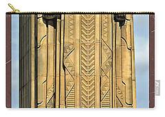 Bob Hope Memorial Bridge Carry-all Pouch by Joan  Minchak