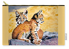 Bob Kittens Carry-all Pouch