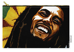 Bob Marley Rastafarian Carry-all Pouch