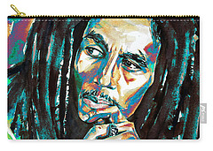 Bob Marley Watercolor Portrait.7 Carry-all Pouch
