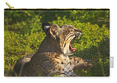 Bobcat Yawn Carry-all Pouch