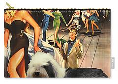 Bobtail -  Old English Sheepdog Art Canvas Print - La Dolce Vita Movie Poster Carry-all Pouch