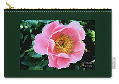 Bodacious Peony Carry-all Pouch