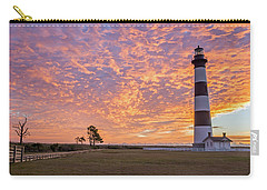 Bodie Island Lighthouse At Sunrise Carry-all Pouch