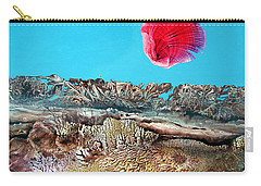 Carry-all Pouch featuring the painting Bogomil Sunrise 2 by Otto Rapp
