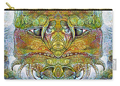 Carry-all Pouch featuring the digital art Bogomil Variation 11 by Otto Rapp