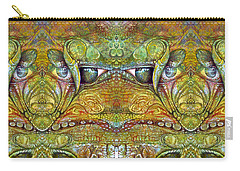 Carry-all Pouch featuring the digital art Bogomil Variation 12 by Otto Rapp