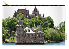 Boldt Castle And Powerhouse Carry-all Pouch by Rose Santuci-Sofranko