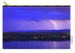 Bolt Over Gatineau Hills  Carry-all Pouch