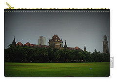 Carry-all Pouch featuring the photograph Bombay High Court by Salman Ravish