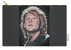 Bon Jovi Carry-all Pouch by Peter Suhocke