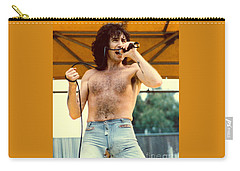 Bon Scott Of Ac Dc At Day On The Green - July 1979 Carry-all Pouch