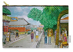 Bonaire Street Carry-all Pouch by Frank Hunter