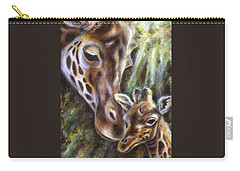 Carry-all Pouch featuring the painting Bond by Hiroko Sakai