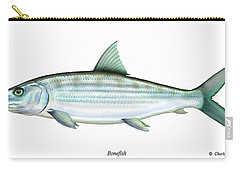 Bonefish Carry-all Pouch by Charles Harden