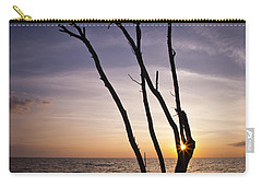 Carry-all Pouch featuring the photograph Bonita Beach Tree by Bradley R Youngberg