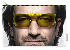 Bono  Carry-all Pouch by Marvin Blaine