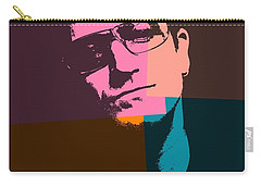 Bono Pop Art Carry-all Pouch by Dan Sproul