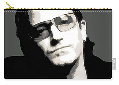 Bono Poster Carry-all Pouch by Dan Sproul