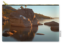 Carry-all Pouch featuring the photograph Bonsai Rock by Jonathan Nguyen