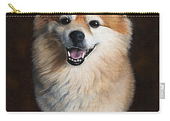Carry-all Pouch featuring the painting Boo 2 by Dee Dee  Whittle