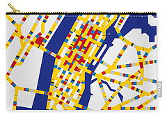 Boogie Woogie New York Carry-all Pouch by Chungkong Art