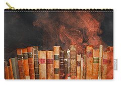 Book Burning Inspired By Fahrenheit 451 Carry-all Pouch