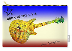 Born In The U S A Bruce Springsteen Carry-all Pouch