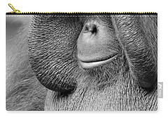 Bornean Orangutan V Carry-all Pouch by Lourry Legarde