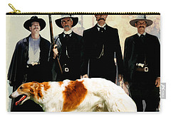 Borzoi Art - Tombstone Movie Poster Carry-all Pouch