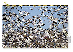 Bosque Snow Geese Carry-all Pouch