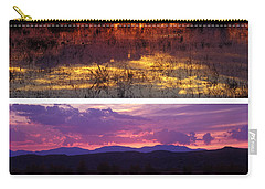 Bosque Sunsets Carry-all Pouch