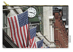 Boston 4th Of July Carry-all Pouch by Kerri Mortenson