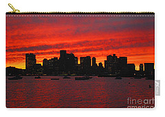 Boston City Sunset Carry-all Pouch