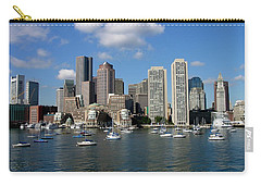Boston Habor Skyline Carry-all Pouch