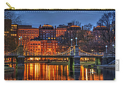 Boston Public Garden Lagoon Carry-all Pouch by Joann Vitali